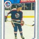 1983-84 OPC # 385 -- Dale Hawerchuk