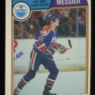 1983-84 OPC # 39 -- Mark Messier, Oilers