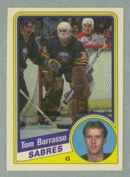 1984-85 OPC # 18 Tom Barrasso RC Rookie