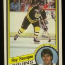 1984-85 OPC # 1 -- Ray Bourque, Bruins