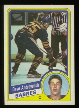 1984-85 Topps # 13 Dave Andreychuk RC SP, Rookie, Sabres