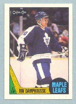 1987-88 OPC # 243 -- Vincent Damphousse RC