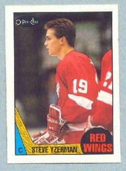 1987-88 OPC # 56 -- Steve Yzerman
