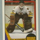 1987-88 Topps # 13 Bill Ranford RC DP UER Rookie