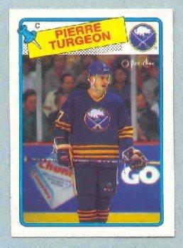 1988-89 OPC # 194 -- Pierre Turgeon RC