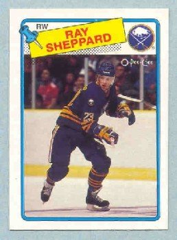 1988-89 OPC # 55 -- Ray Sheppard RC