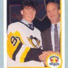 1990-91 UD French # 356 -- Jaromir Jagr Rookie Card RC