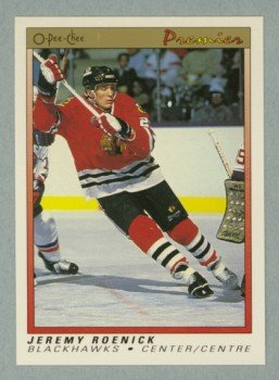 1990-91 OPC Premier # 100 Jeremy Roenick Rookie Card RC MINT