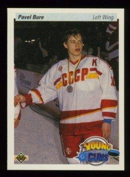 1990-91 UD # 526 -- Pavel Bure Rookie Card RC Canucks