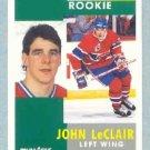 1991-92 Pinnacle # 322 -- John LeClair Rookie Card RC