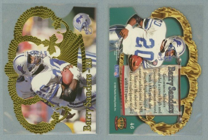 1995 Crown Royale # 46 BARRY SANDERS -- MINT