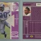 1998 SPx Finite Spectrum # 110 BARRY SANDERS Playmakers #d 0597 of 1375 -- MINT