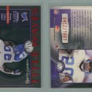 2001 Donruss Elite Title Waves # TW-7 BARRY SANDERS #d 0452 of 1997
