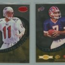 1999 Leaf Certified Skills # CS-8 DREW BLEDSOE and DOUG FLUTIE -- MINT