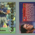 1999 Score Numbers Game # 4 DREW BLEDSOE 3633 Passing Yards #d 2785 of 3633 -- MINT