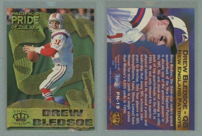 1995 Crown Royale Pride of the NFL # PN-19 DREW BLEDSOE