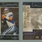 1998 SP Authentic Special Forces # S11 TROY AIKMAN #d 0630 of 1000 -- MINT