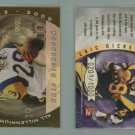 2000 Quantum Leaf All-Millennium Team # AMT-ED ERIC DICKERSON #d 0201 of 1000