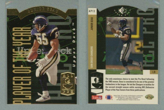 1993 SP All-Pros # AP13 JUNIOR SEAU -- MINT
