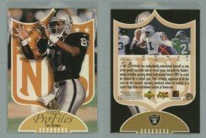 1997 SP Authentic ProFiles # P33 TIM BROWN -- MINT