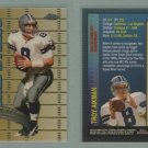 1998 Topps Chrome Measures of Greatness # MG7 TROY AIKMAN -- MINT