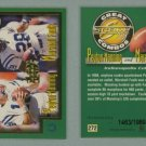 1999 Score # 272 PEYTON MANNING and MARSHALL FAULK Great Combos #d 1463 of 1989 -- MINT