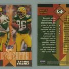 1999 Ultra Counterparts # 5 BRETT FAVRE and ANTONIO FREEMAN -- MINT