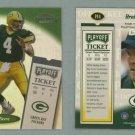 1999 Playoff Contenders SSD Playoff Ticket # 194 BRETT FAVRE -- MINT
