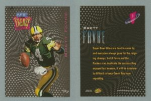 1997 Playoff Zone Frenzy # 1 BRETT FAVRE -- MINT