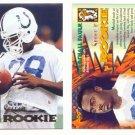 1994 Select # 200 MARSHALL FAULK RC Rams MINT Rookie