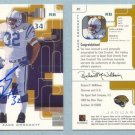 1999 SP Signature Autographs # ZC ZACK CROCKETT Jaguars -- MINT