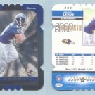 2000 Leaf Certified Die Cut # 224 JAMAL LEWIS RC #d 0149 of 1000 Rookie -- MINT