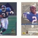 1997 SP Authentic # 137 TIKI BARBER RC Giants Rookie