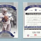 2002 Donruss Classics Timeless Tributes # 12 QUINCY CARTER #d 135 of 150 -- MINT