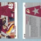 2002 Upper Deck # AA-SD STEPHEN DAVIS GU Jersey Redskins, Panthers