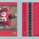 2000 Upper Deck Generation Y2K # 128 THOMAS JONES RC #d 1130 of 2000 Rookie -- MINT