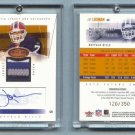 2004 Fleer Hot Prospects # 82 J. P. LOSMAN Auto 4-Color Jersey RC #d 120 of 350