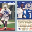 1994 Upper Deck # 7 MARSHALL FAULK RC Rams Rookie -- MINT