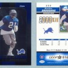 2000 Leaf Certified # 233 REUBEN DROUGHNS RC #d 0881 of 1000 -- MINT