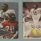 1998 Playoff Prestige Alma Maters # 28 AVERY, WALLS, BOWENS -- MINT