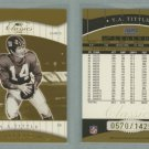 2001 Donruss Classics # 158 Y. A. TITTLE #d 0570 of 1425 -- MINT