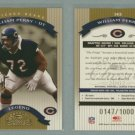 2002 Donruss Classics # 143 WILLIAM PERRY #d 0147 of 1000 -- MINT