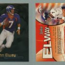 1998 Fleer Brilliants # 1 JOHN ELWAY -- MINT