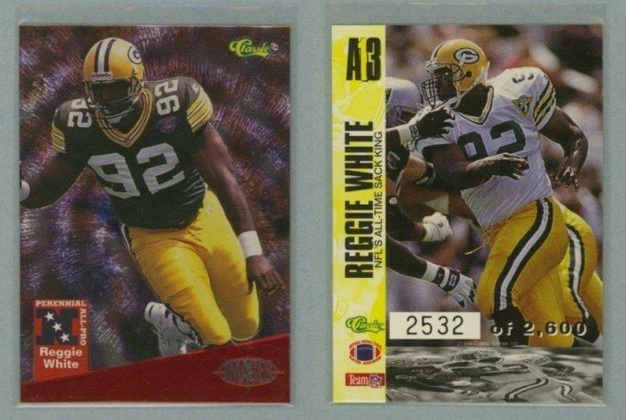 1994 Images All-Pro # A13 REGGIE WHITE #d 2532 of 2600 -- MINT