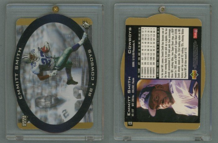1996 SPx Gold # 13 EMMITT SMITH -- MINT