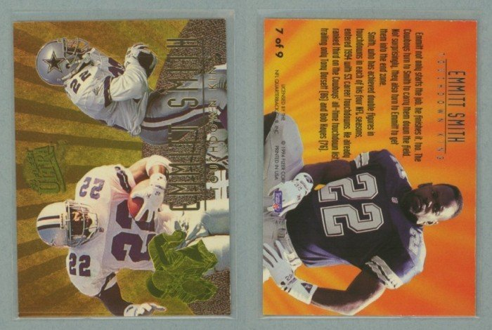 1994 Ultra Touchdown Kings # 7 EMMITT SMITH