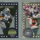 1997 Playoff Contenders Pennants # 25 BARRY SANDERS -- MINT