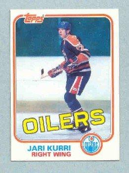 1981-82 Topps # 18 -- Jari Kurri Rookie Card RC