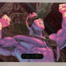 1994 Marvel Masterpieces PowerBlast Card #4 Cyclops