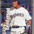 1996 Fleer Circa Access Baseball #28 Rickey Henderson